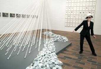 Yoko Ono, Louisiana Museum of Modern Art 2013. Foto: Bjarke Ørsted