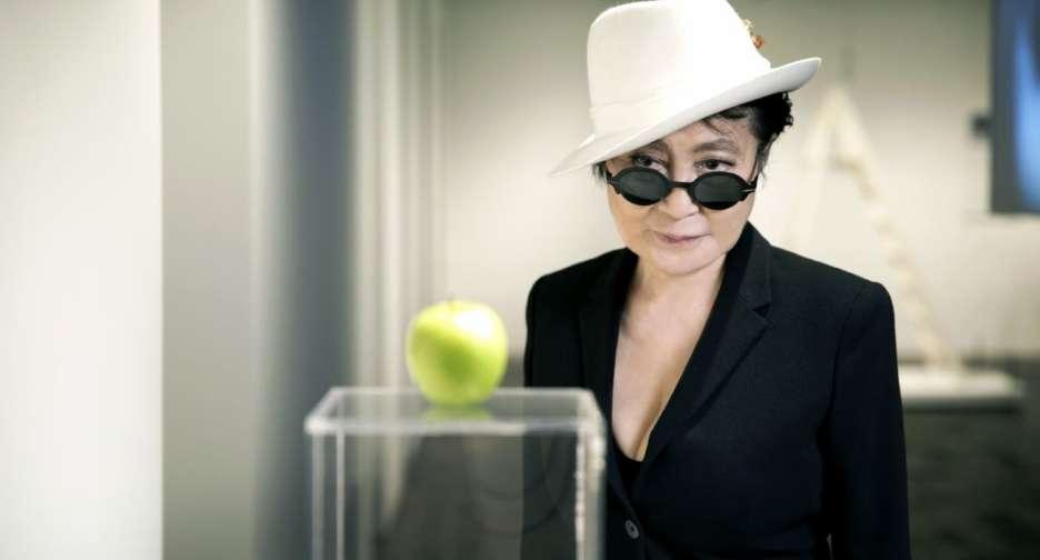 Yoko Ono. Foto: Bjarke Ørsted